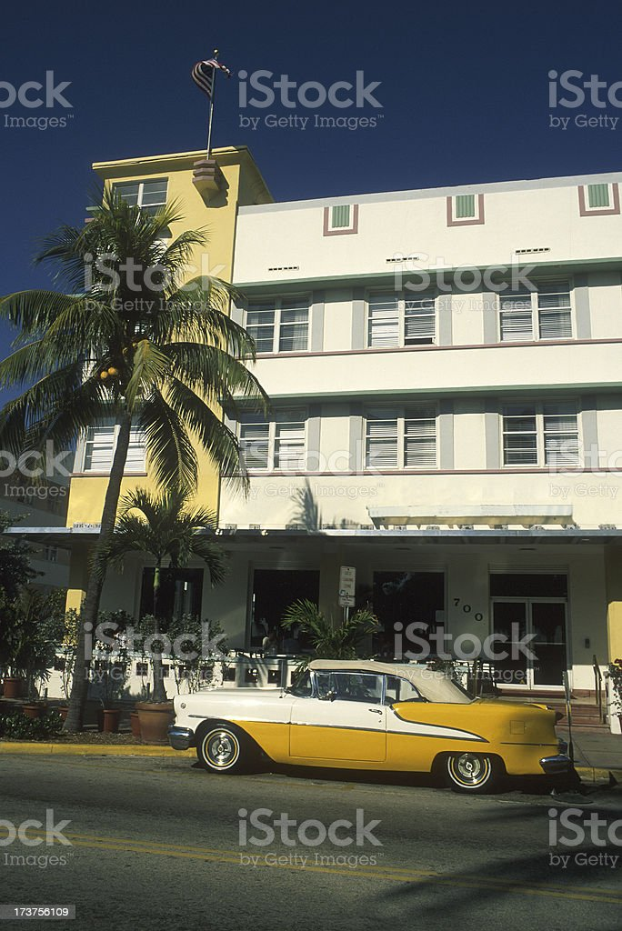 Art Deco building royalty-free stock photo