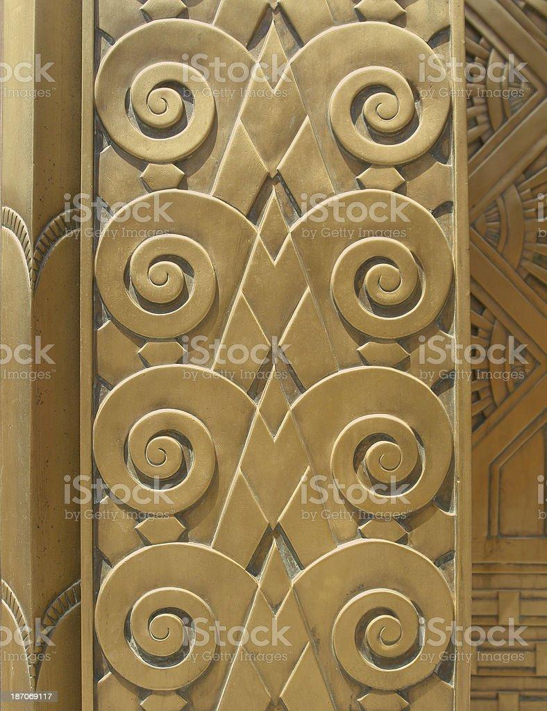 Art Deco Design stock photo