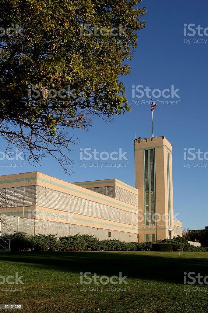 Art Deco Factory royalty-free stock photo