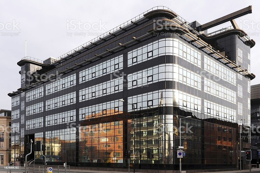 Art Deco in Manchester stock photo