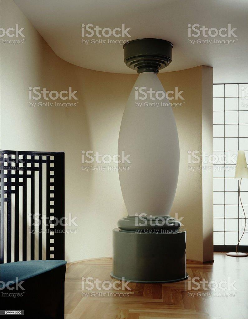 Art Deco Interior royalty-free stock photo