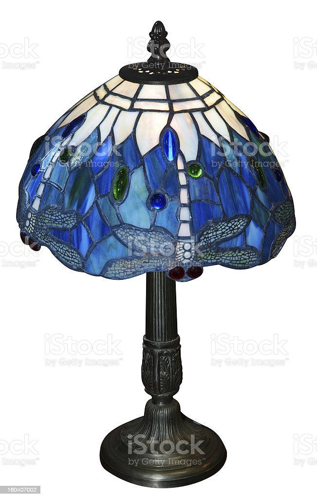 Art Deco Lamp stock photo