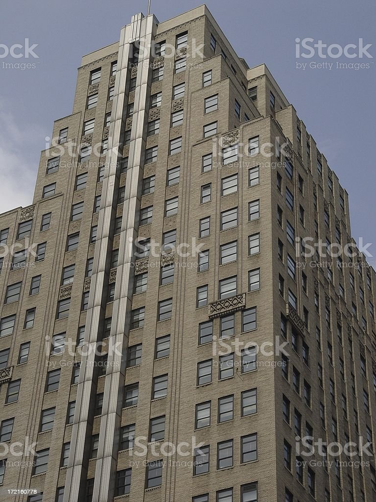 Art Deco Office Builing in NYC stock photo