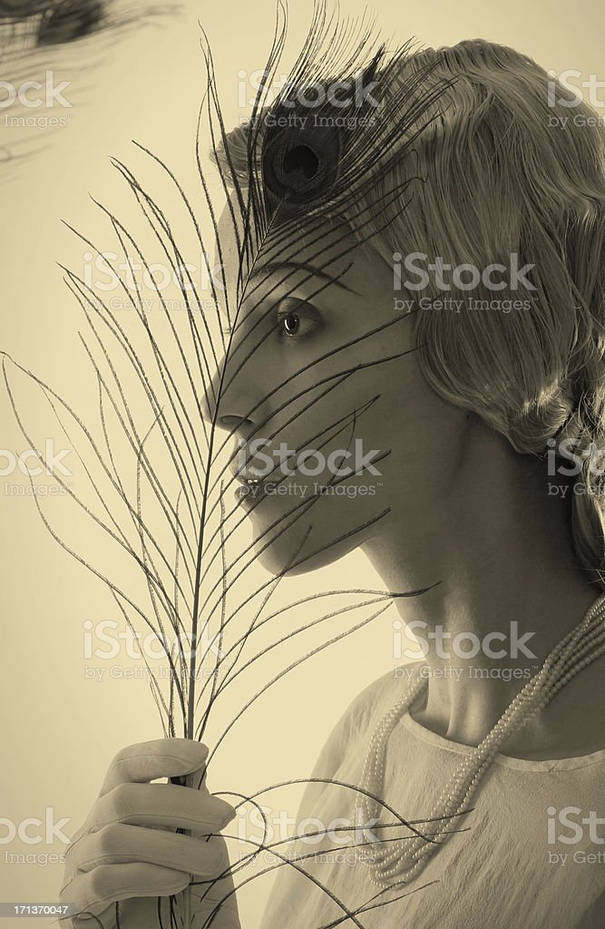 Art Deco. Other Outlook stock photo