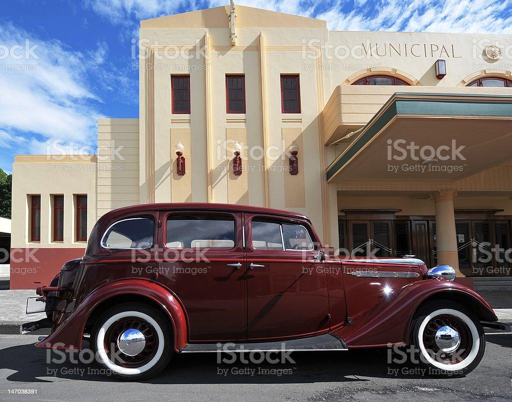 Art Deco Scene stock photo