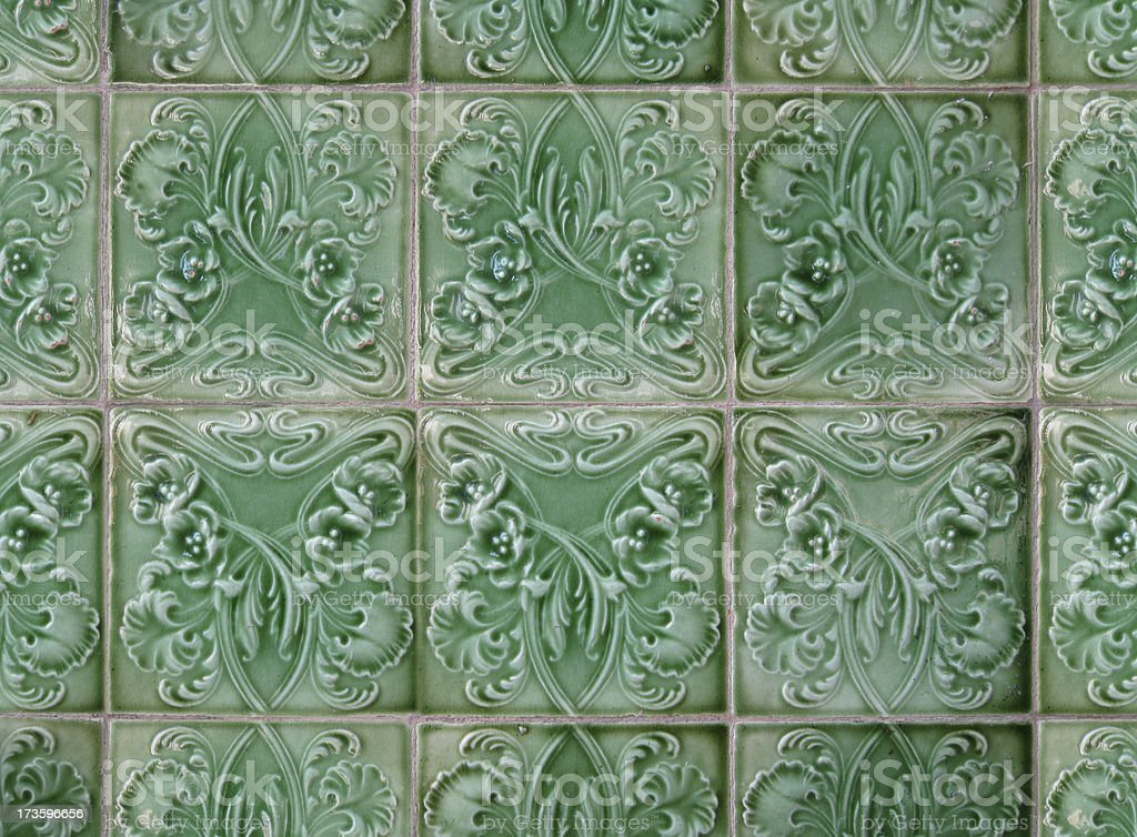Art Deco Tiles royalty-free stock photo