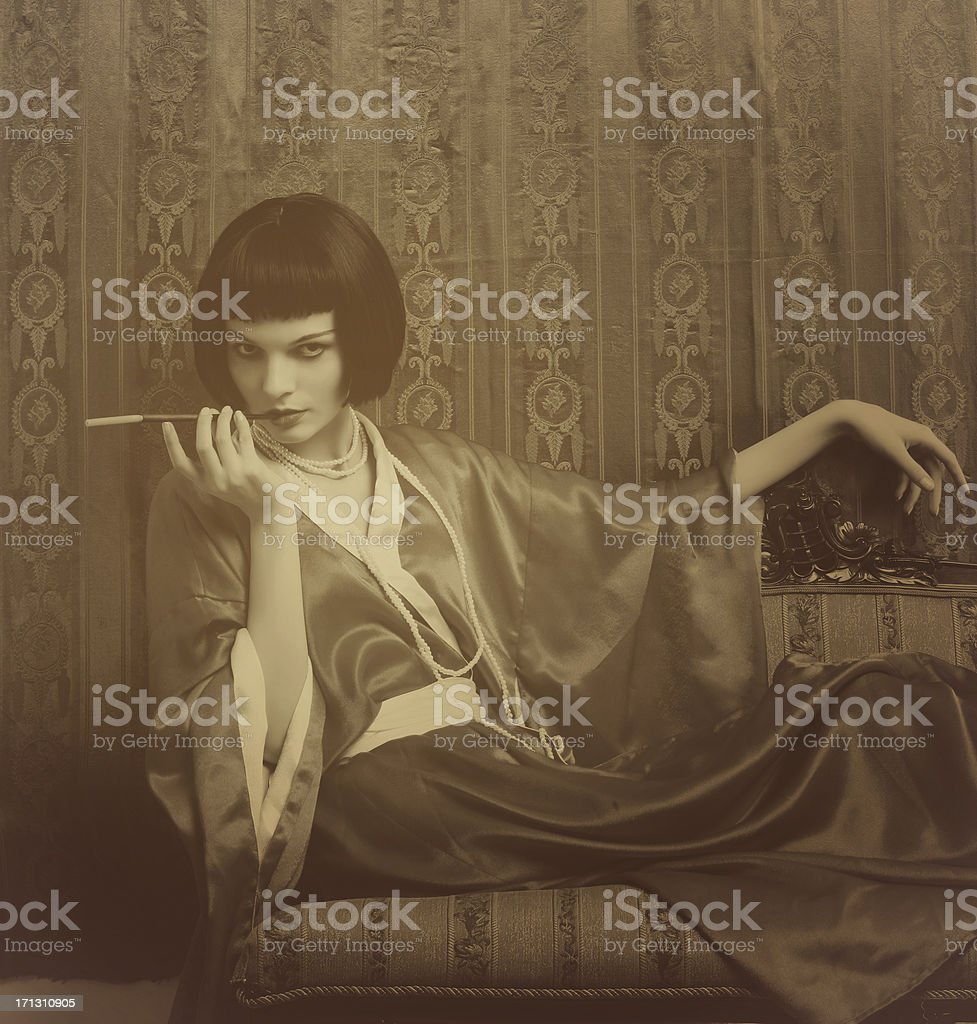 Art Deco.Luxury stock photo