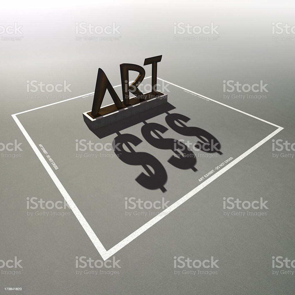 Art Dollars XL+ royalty-free stock photo