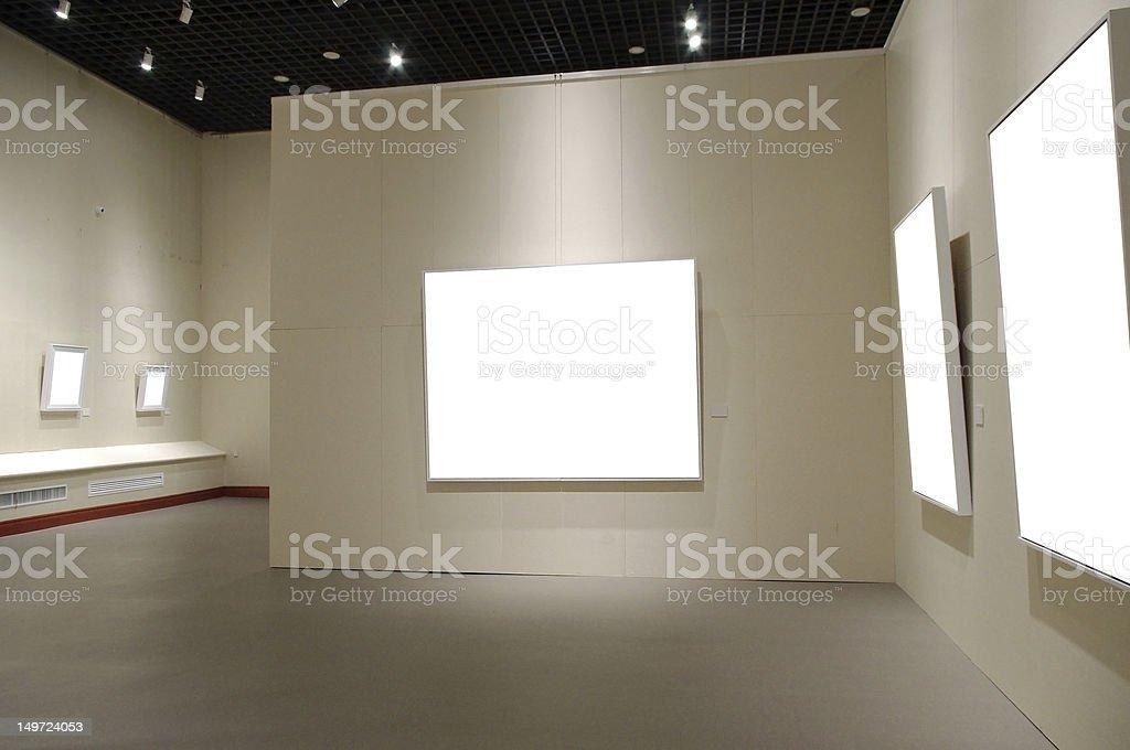 Art exhibition royalty-free stock photo