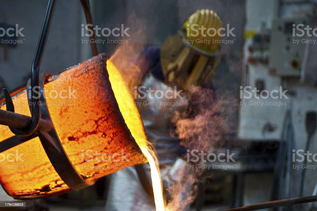Art Foundry stock photo