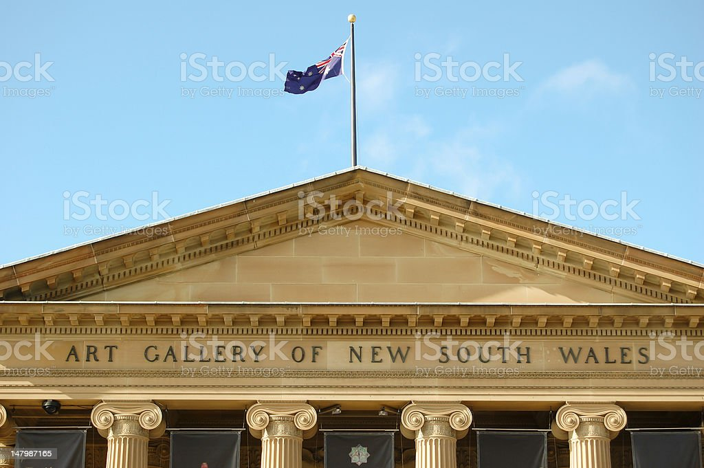Art Gallery of New South Wales stock photo