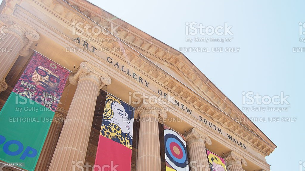 Art Gallery of New South Wales royalty-free stock photo