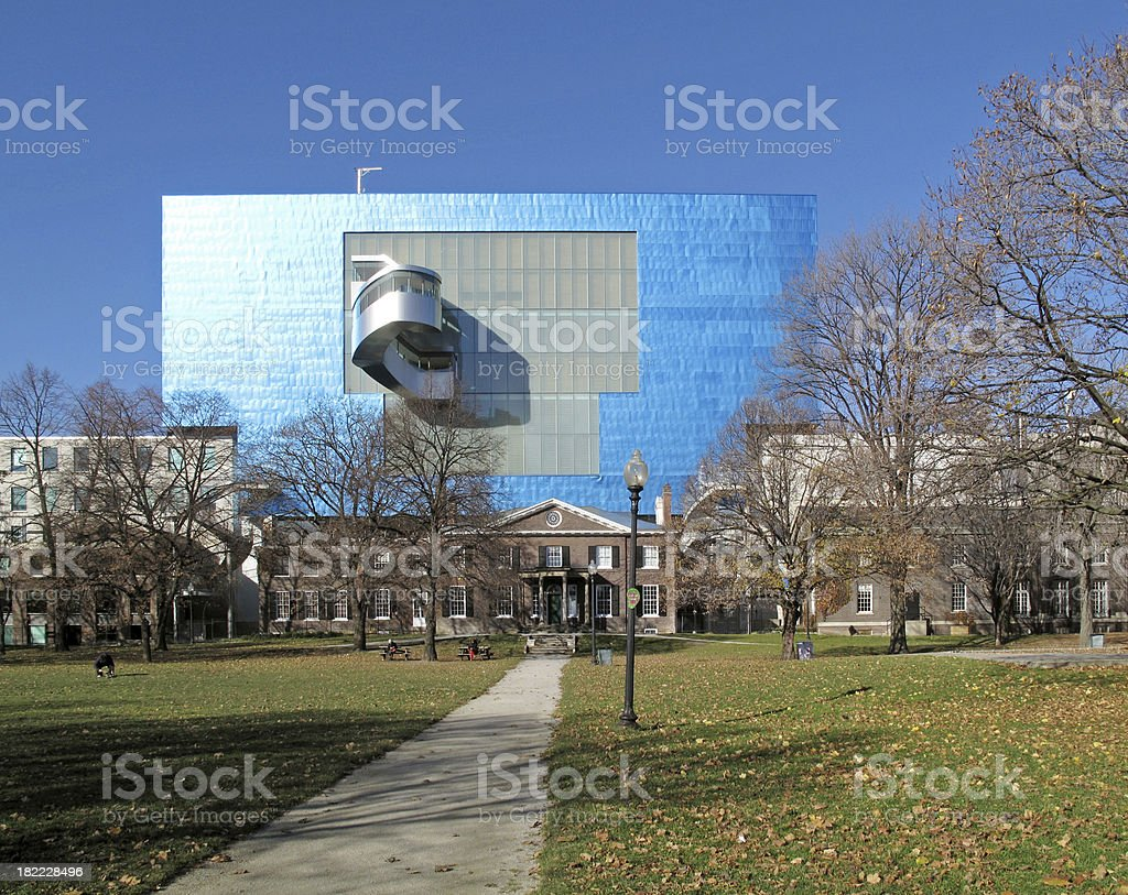 Art Gallery of Ontario Looms Over Surrounding Neighborhood stock photo