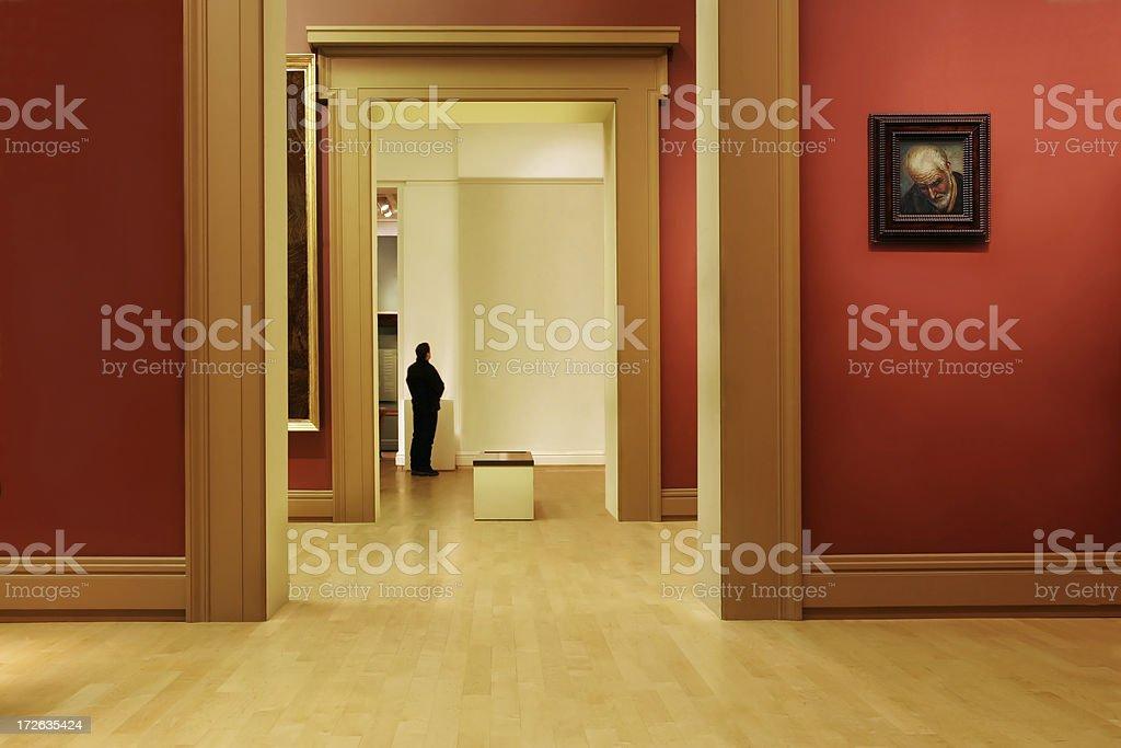 Art Gallery royalty-free stock photo