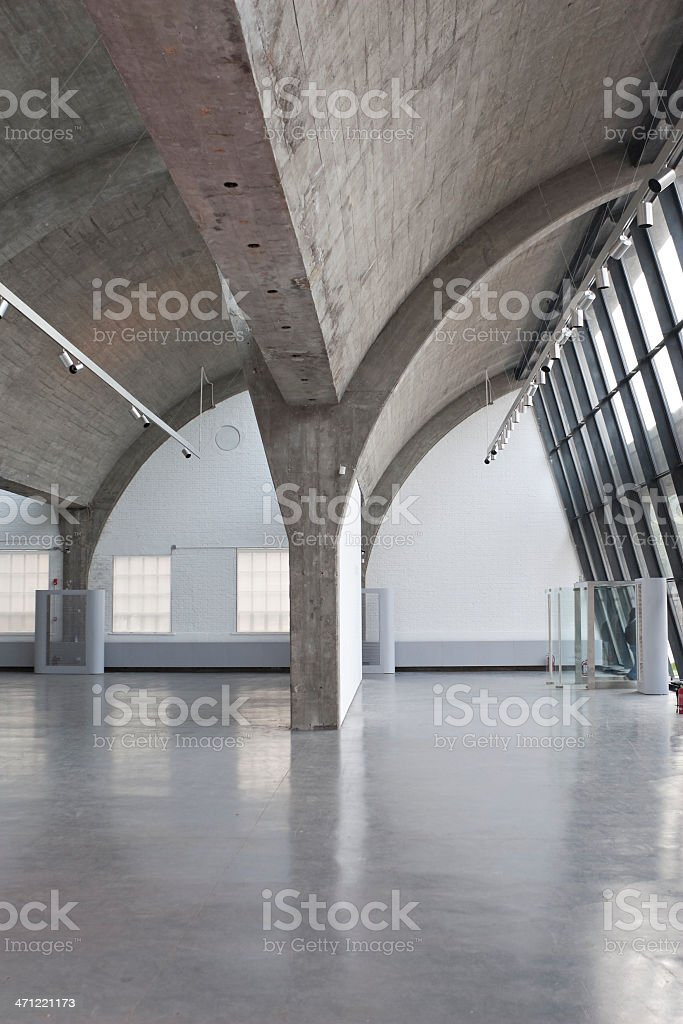 art gallery stock photo