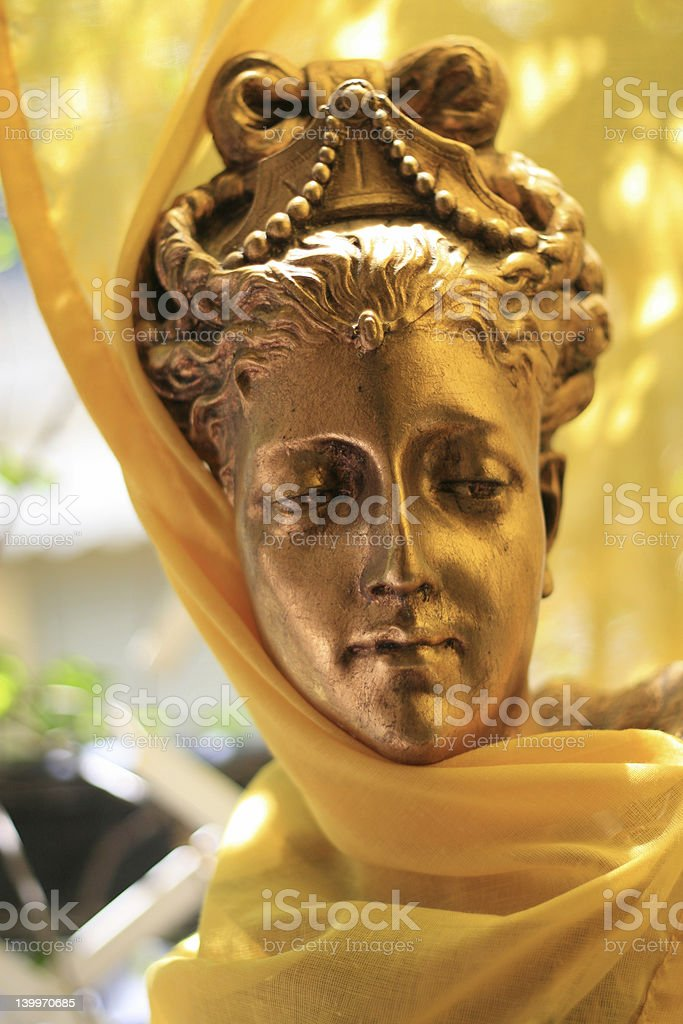 Art - Golden beauty stock photo