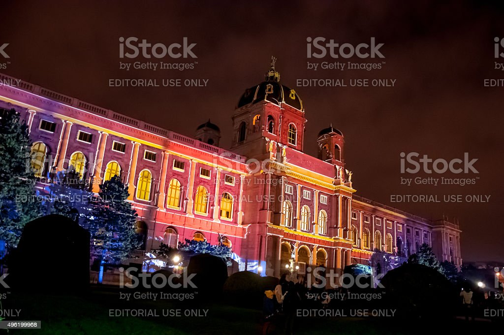 Art History Museum in Vienna, Austria stock photo