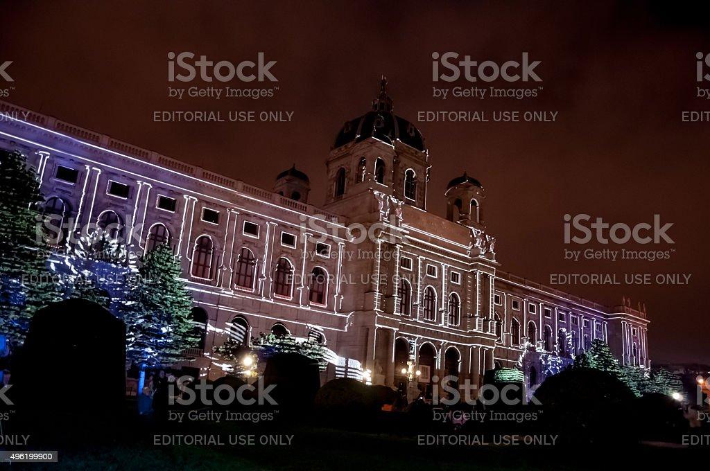 Art History Museum in Vienna stock photo