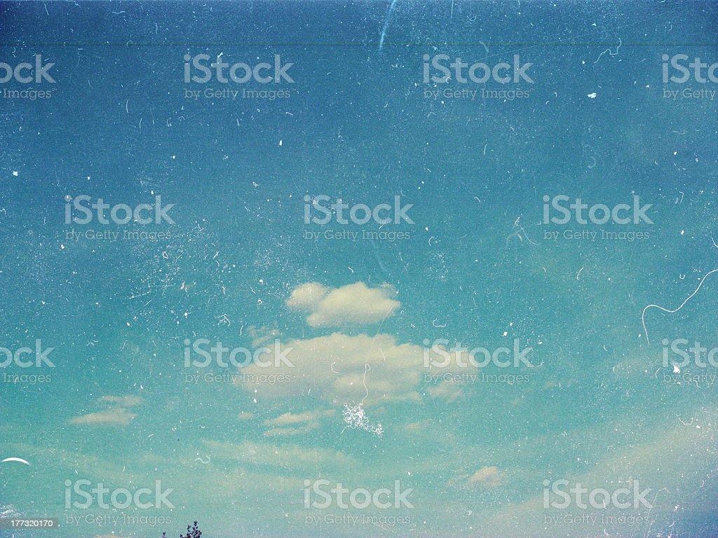 art imagen con cielo azul foto de stock libre de derechos