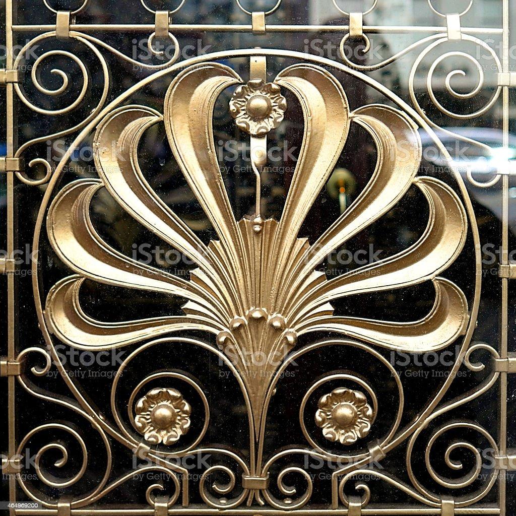 Art Nouveau Decoration stock photo
