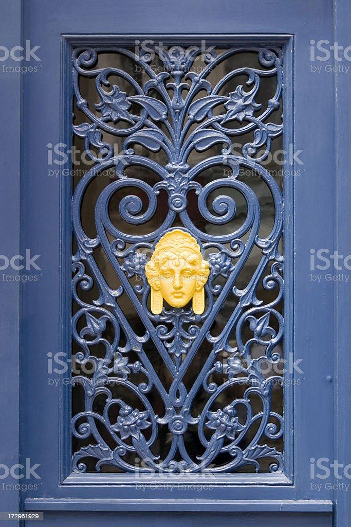 Art Nouveau Door royalty-free stock photo