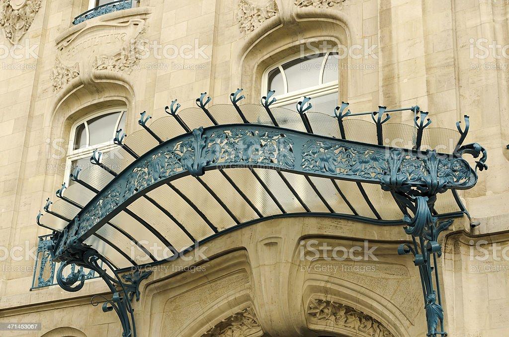 art nouveau in Nancy stock photo