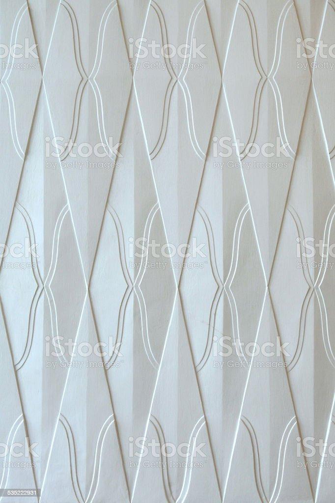 Art Nouveau pattern in Hradec Kralove. Background texture. stock photo