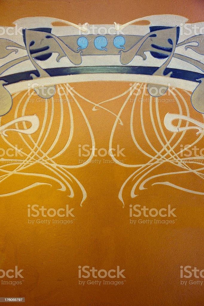 Art Nouveau stock photo