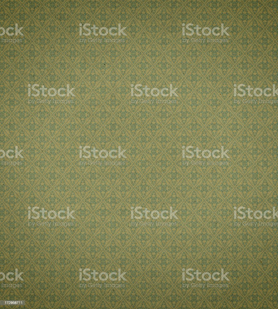 Art Nouveau wallpaper pattern stock photo