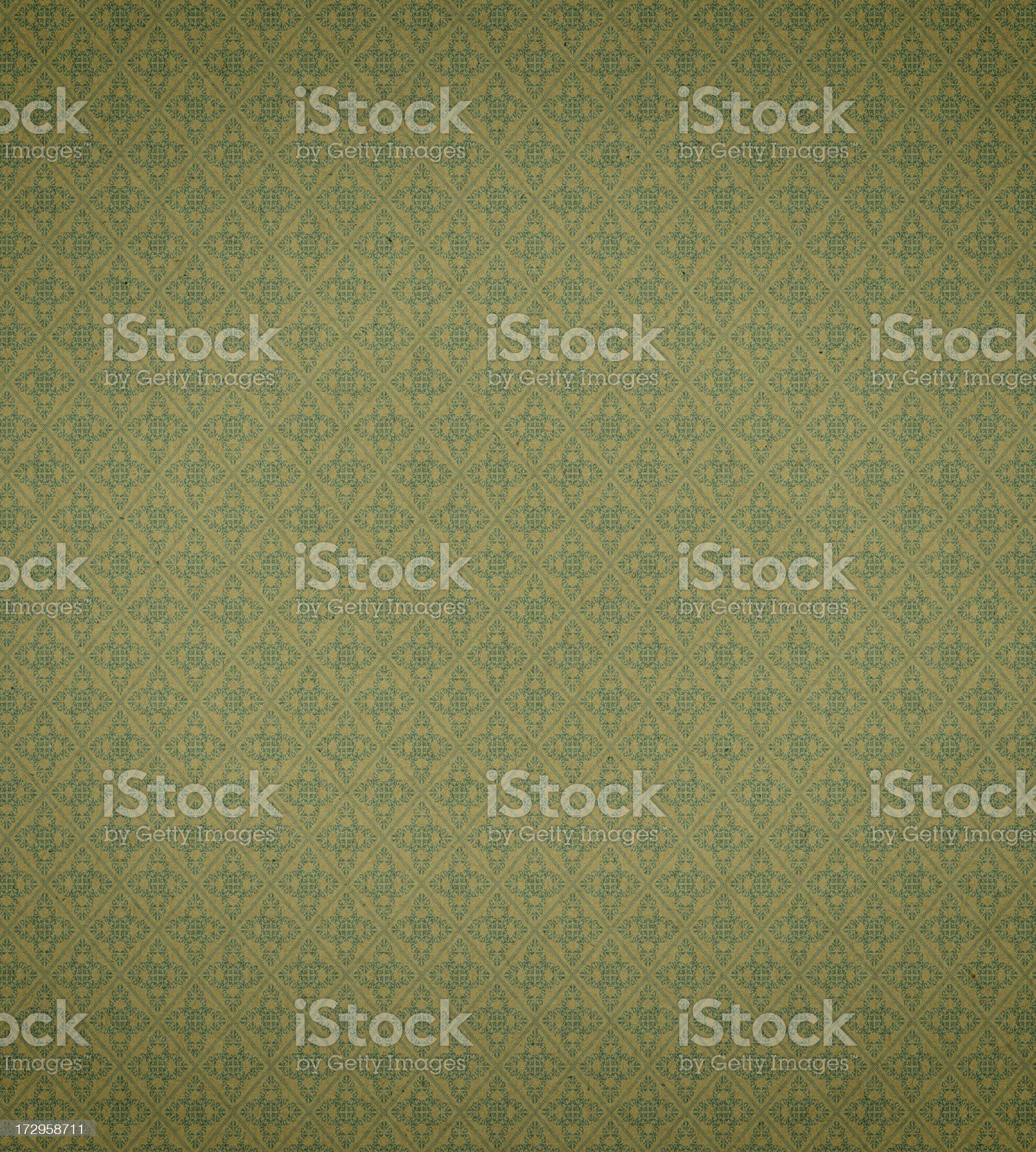 Art Nouveau wallpaper pattern royalty-free stock photo