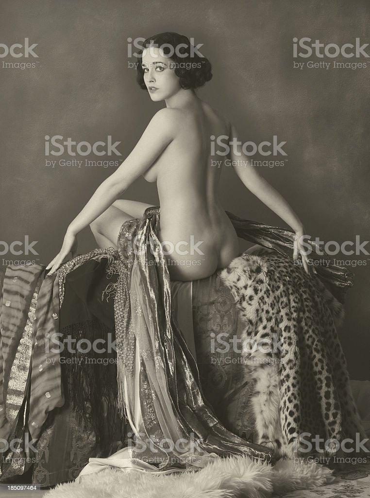 Art Nouveau.Opolence royalty-free stock photo