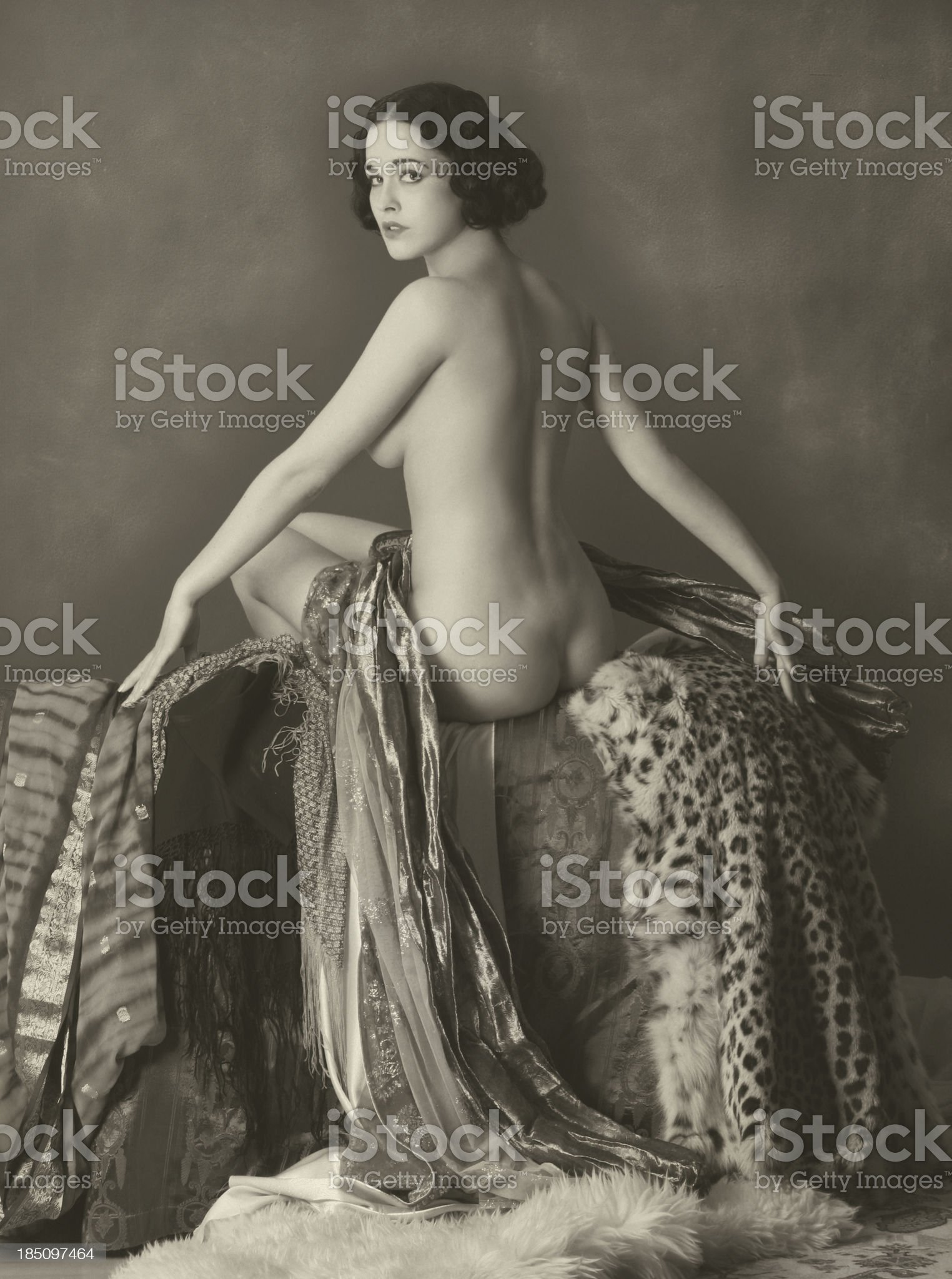 Art Nouveau.Opolence royalty-free stock photo