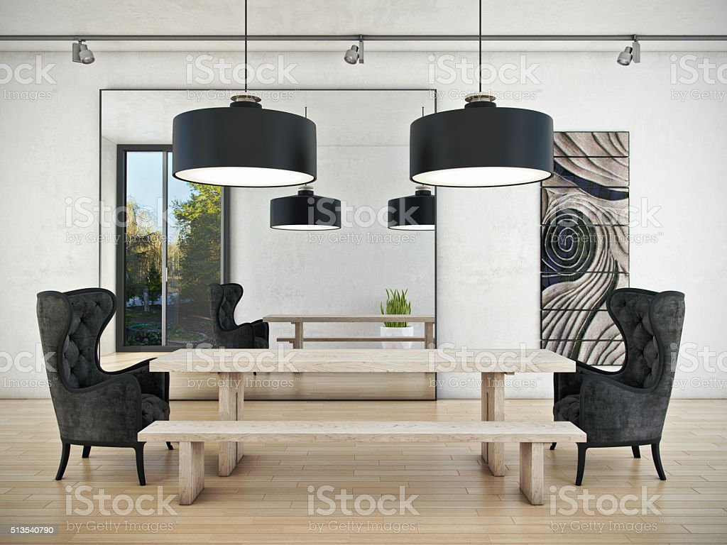 Art of Meeting Room stock photo