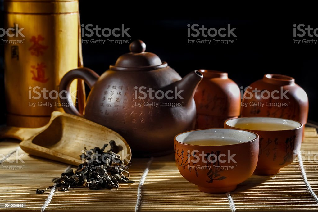 Art of Tea stock photo