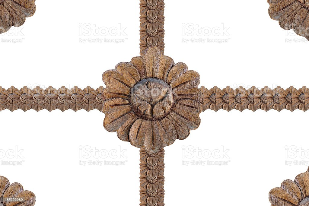 Art of wood carving. royalty-free stock photo