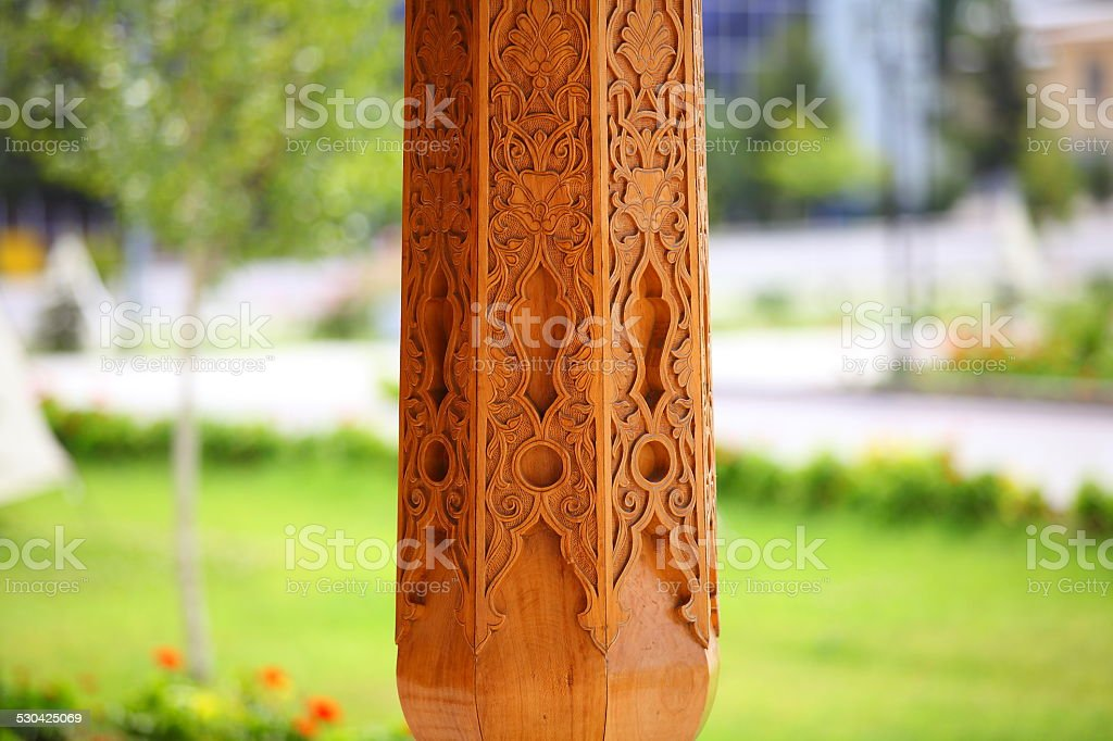 Art on a tree. stock photo