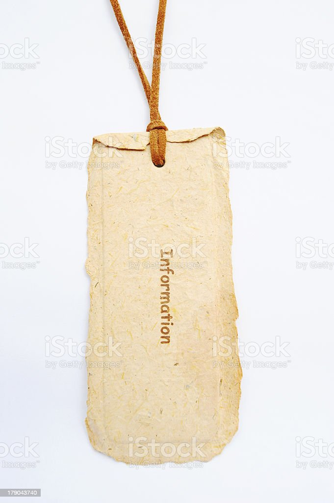 Art paper tag objects for your layouts. stock photo