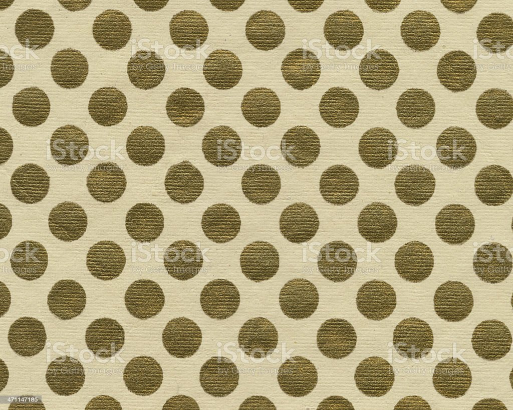 art paper with gold dots royalty-free stock photo