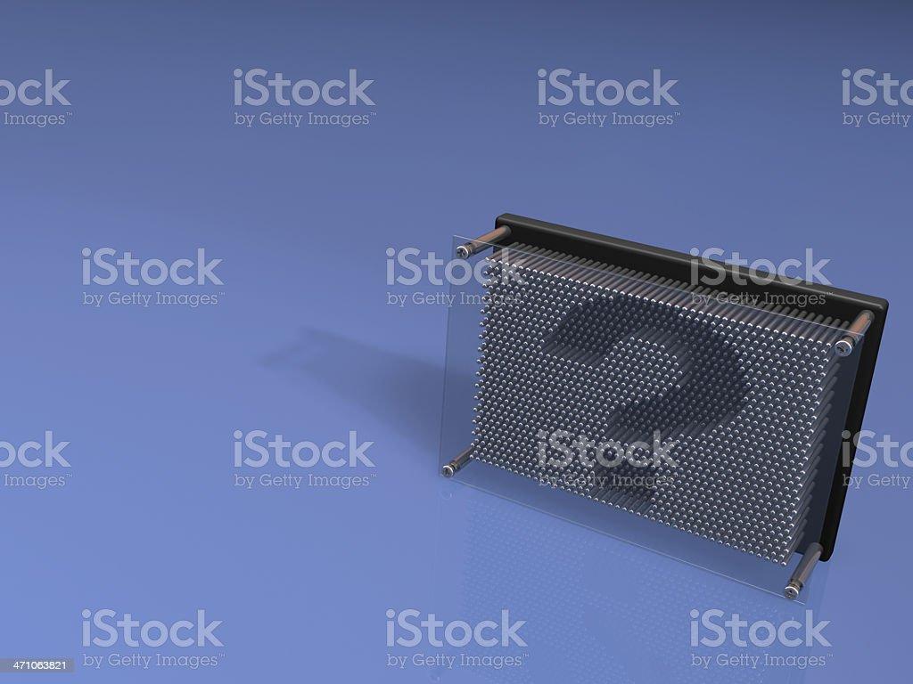 art pin board ? series stock photo