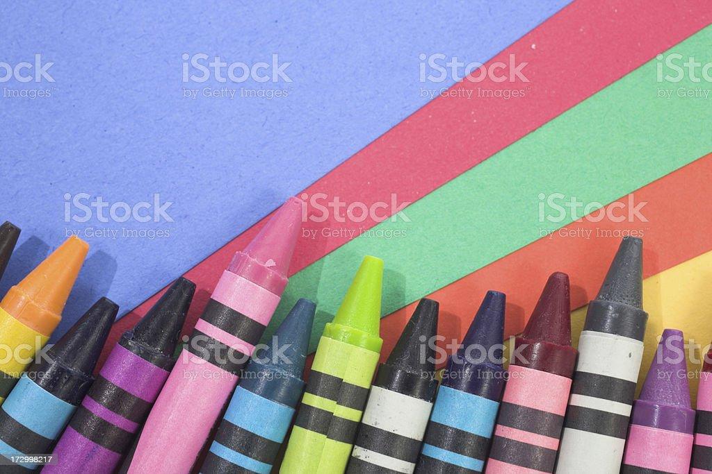 Art supply stock photo