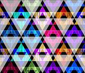 Art triangle pattern