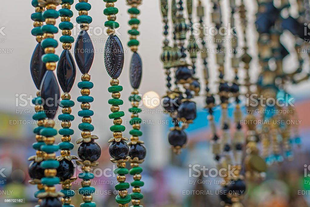 Art work , Indian handicrafts fair at Kolkata stock photo