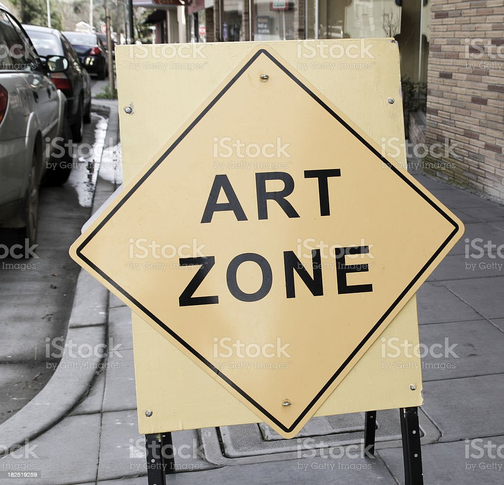 Art Zone stock photo
