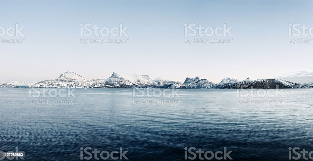 Artctic Norway royalty-free stock photo