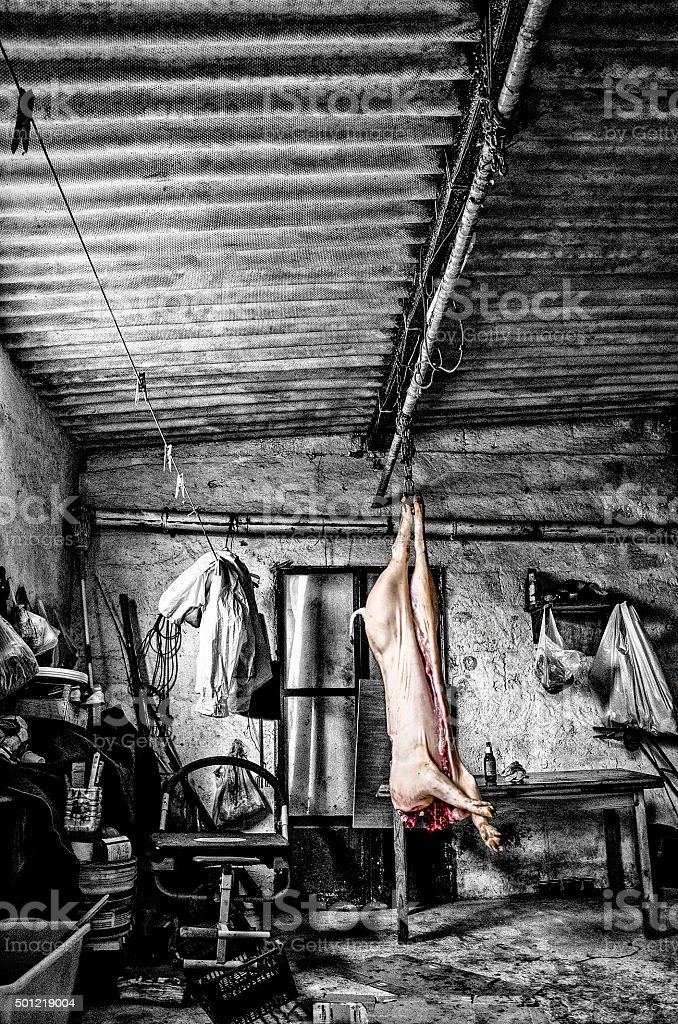 Arte Dark stock photo
