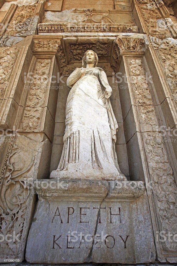 Artemis Goddess Statue royalty-free stock photo