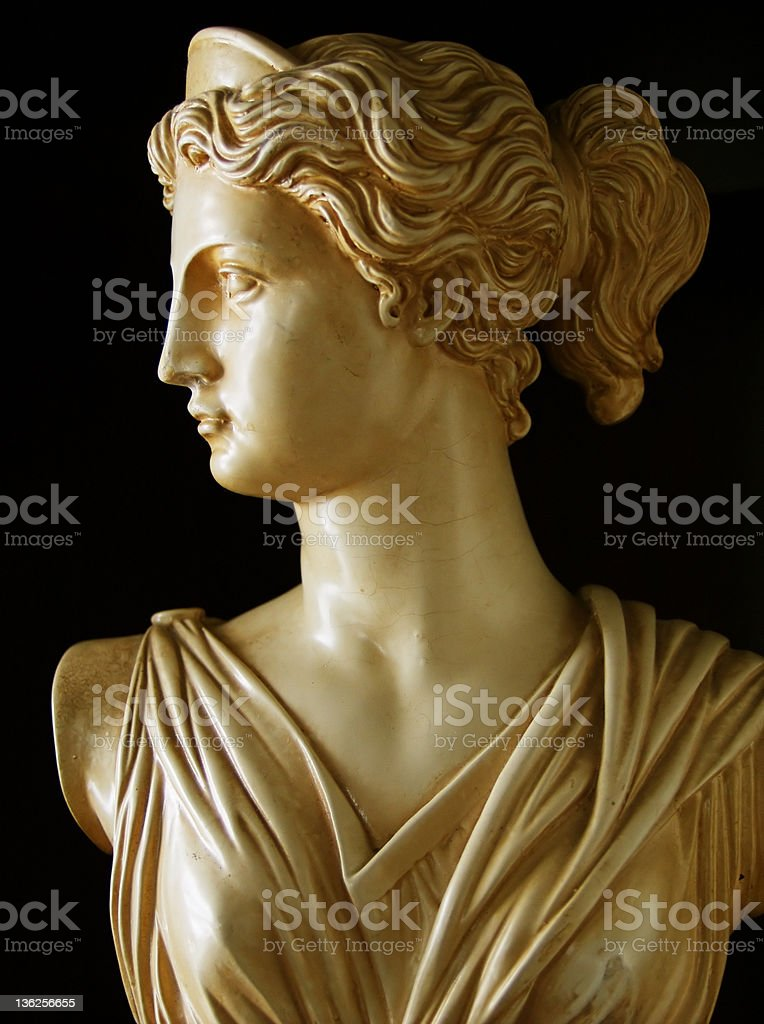 Artemis stock photo