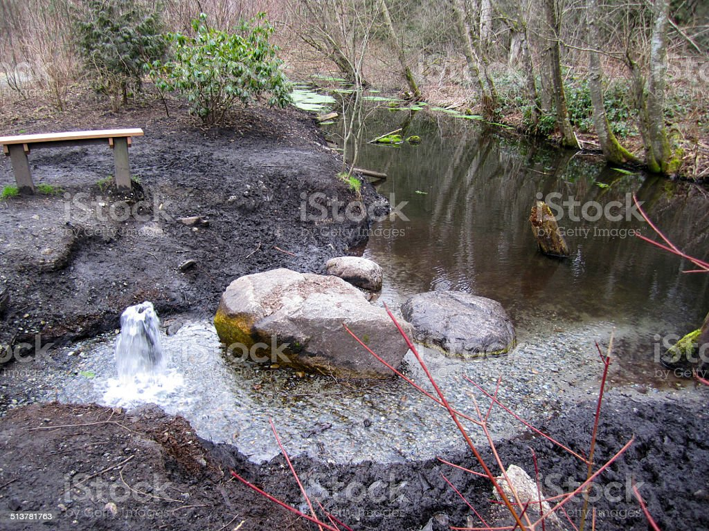 Artesian Aquifer stock photo