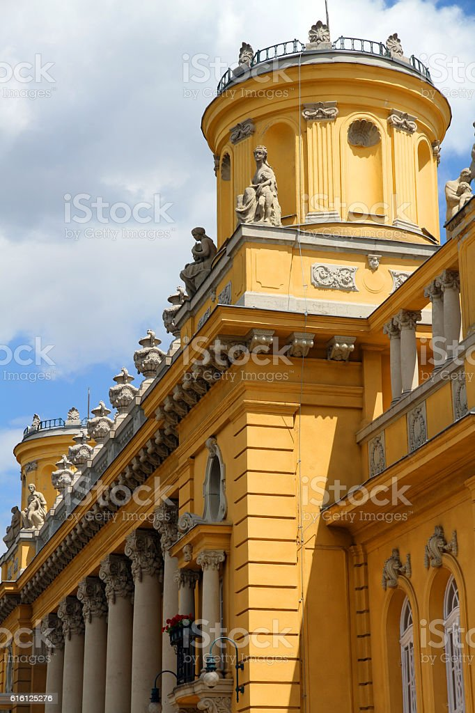 Artesian Budapest stock photo