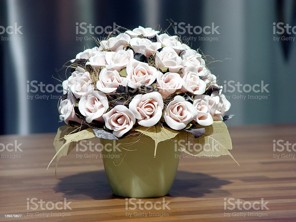 Artficial flowers royalty-free stock photo
